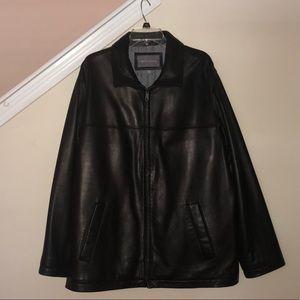 Apt 9 Lambskin Leather Jacket